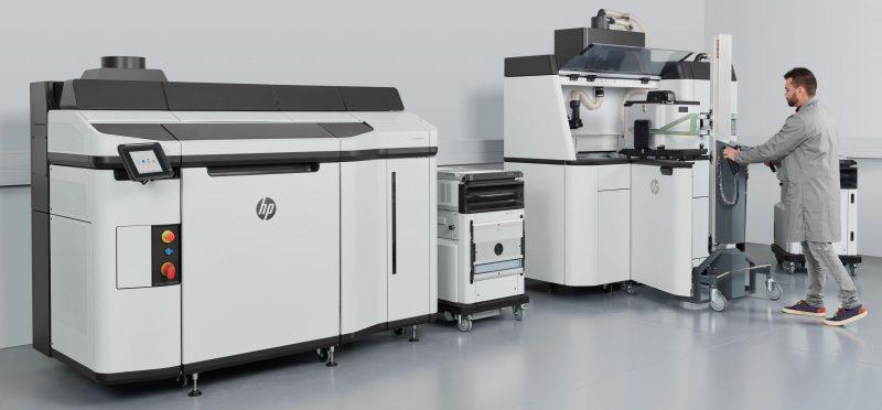 HP Jet Fusion 5210, un 3D da record per Weerg