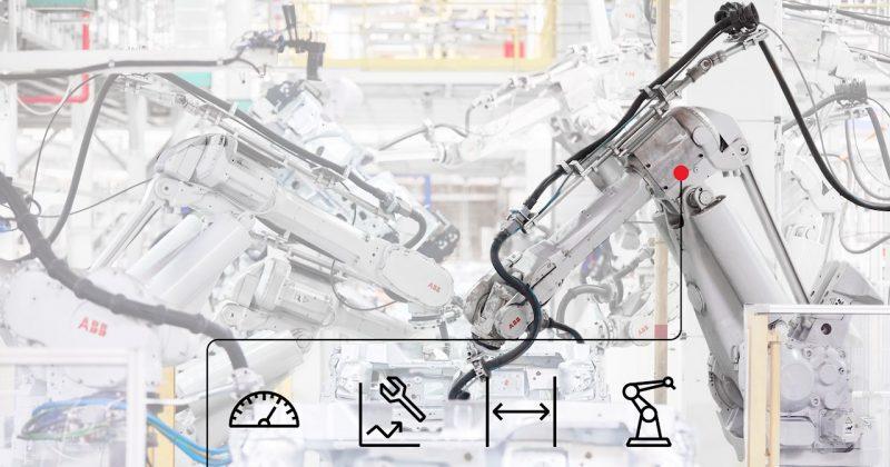 ABB, un servizio di manutenzione basato sulle effettive condizioni dei robot delle aziende