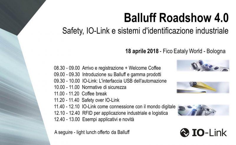 Balluff Roadshow 4.0, nuova tappa a Bologna