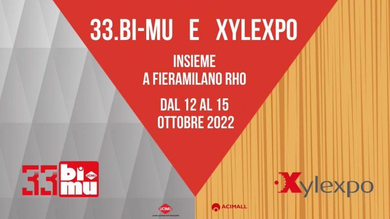 33.Bi-MU e Xylexpo insieme nel 2022