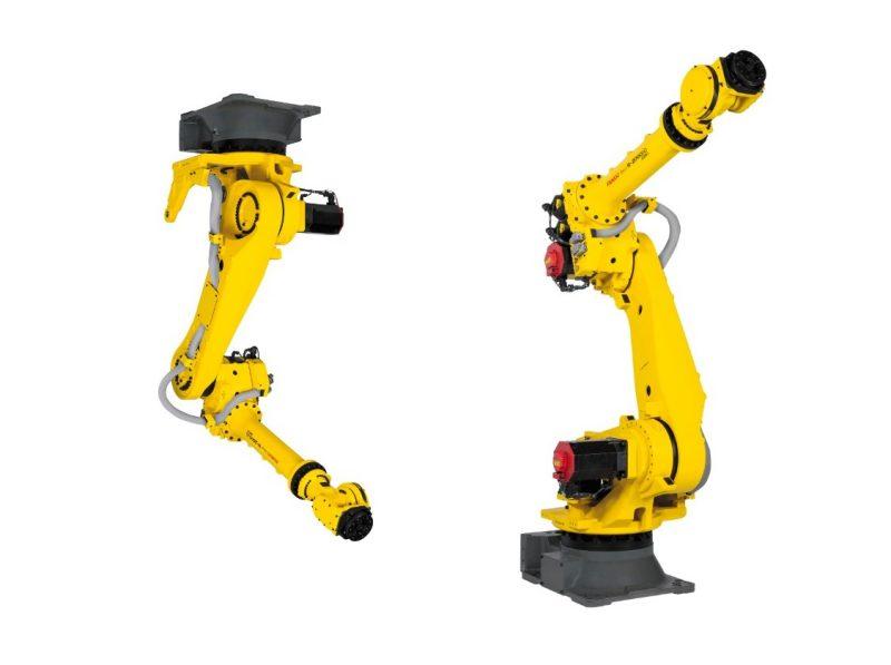 Robot Fanuc per fissaggio a soffitto