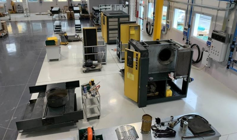 Kaeser Compressori sceglie Hoffmann Italia per la nuova officina Service a Bologna