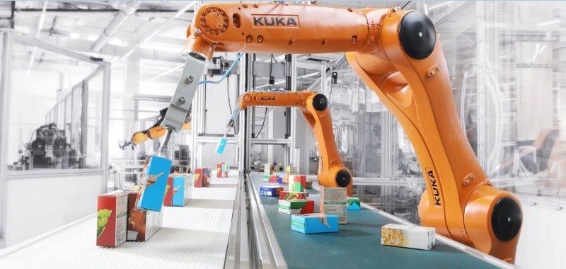 Webinar di Kuka sull'offerta robotica per il settore Consumer Goods
