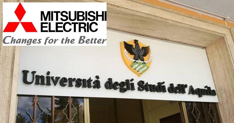 Formazione al centro, Mitsubishi Electric insieme all'Università degli Studi dell'Aquila