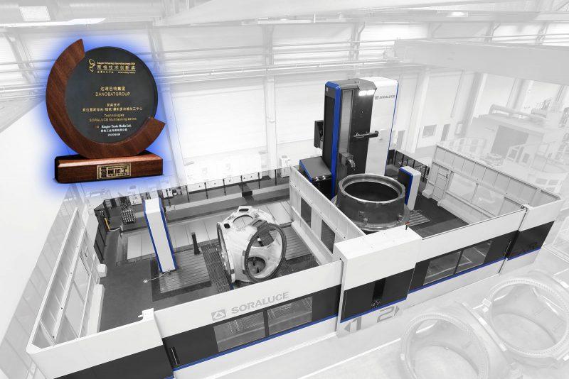 Ringier Technology Innovation Award 2020 Metalworking Industry al centro multitasking Soraluce